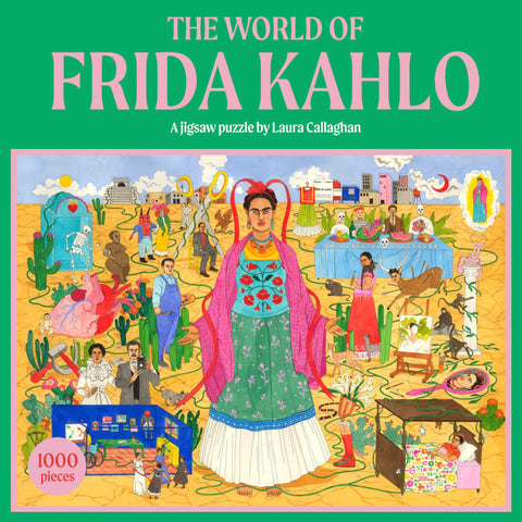 1,000 pc Puzzle - The World of Frida Kahlo