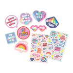 Scented Scratch Stickers - GRL PWR