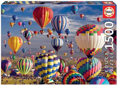 1,500 pc Puzzle - Hot Air Balloons