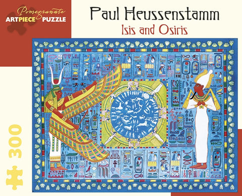 300 pc Puzzle - Paul Heussenstamm: Isis and Osiris
