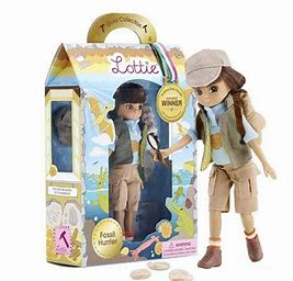 Lottie Doll - Fossil Hunter
