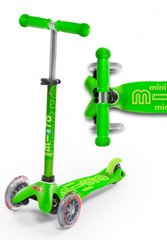 Mini Deluxe Scooter - Green - CURBSIDE PICK-UP ONLY