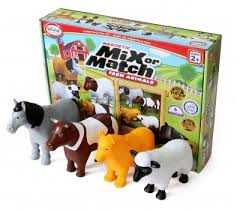 Mix or Match - Farm Animals