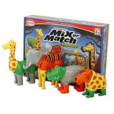 Mix or Match - Safari Animals