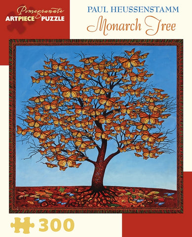 300 pc. Puzzle - Paul Heussenstamm: Monarch Tree