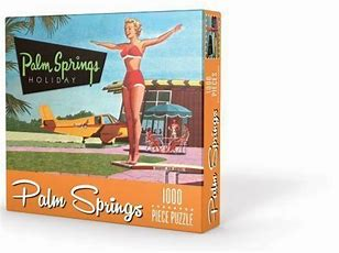 1,000 pc Puzzle - Palm Springs