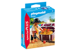 Playmobil Special PLUS 9358- Pirate with Treasure