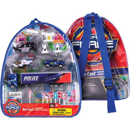 Backpack Playset - Police
