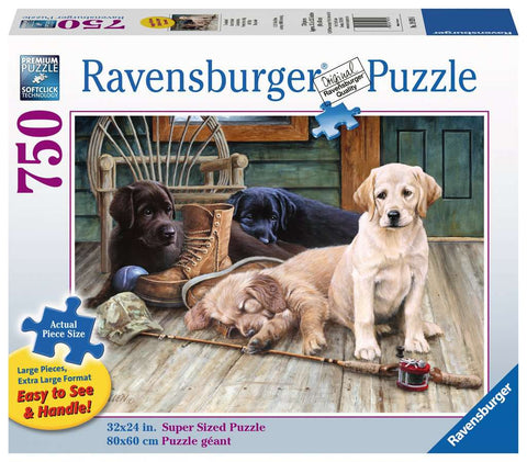 750 pc Puzzle - Ruff Day
