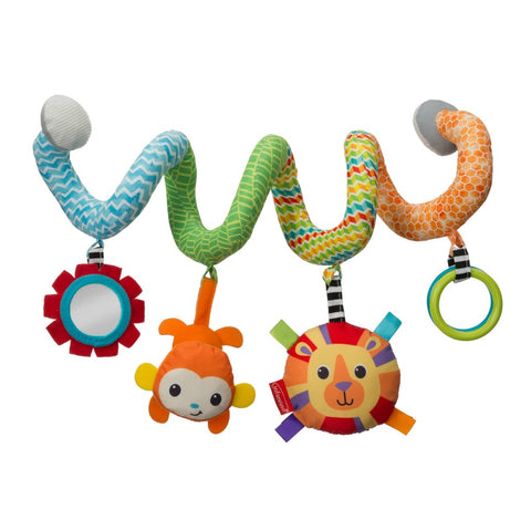 Spiral Activity Toy - Blue