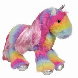 Stumbles Rainbow Unicorn Fur Fuzzle