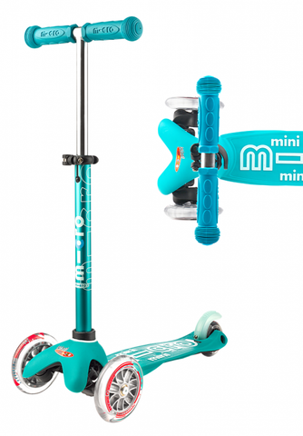 Mini Deluxe Scooter - Aqua - CURBSIDE PICK-UP ONLY
