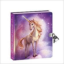 Unicorn Diary  with Invisible Ink Pen