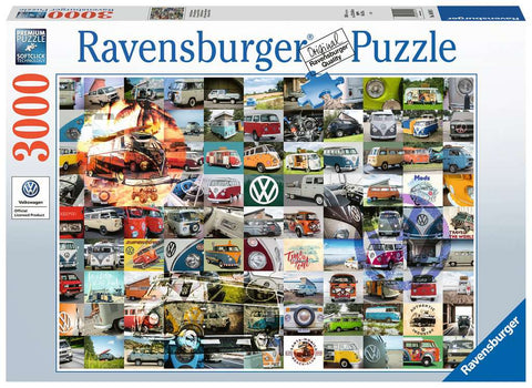 3,000 pc Puzzle - 99 VW Campervan Moments