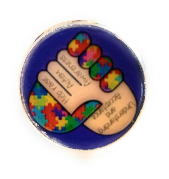 Autism Awareness Ring
