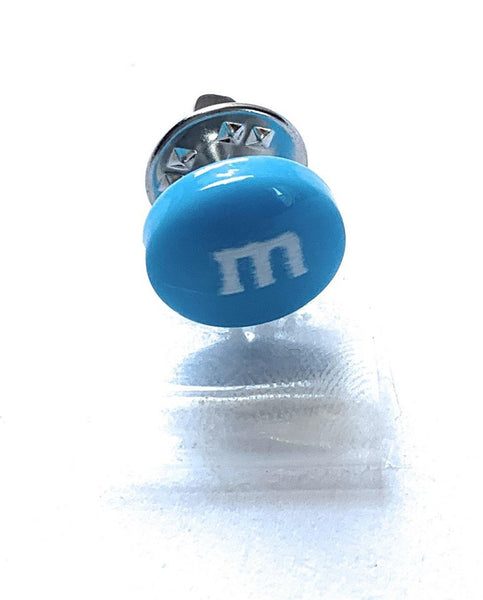 Blue M&M Pin