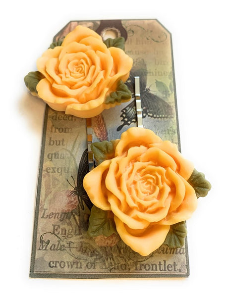 Big Rose Hairpins