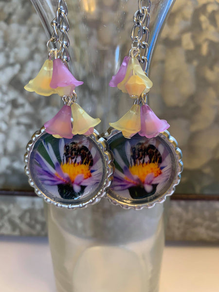 Honey Bee Garden Earrings