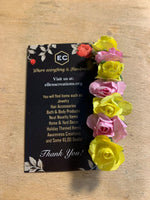 Pink and Yellow Roses Barrette