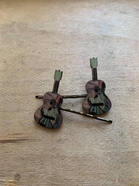 Fancy Guitar Hairpins