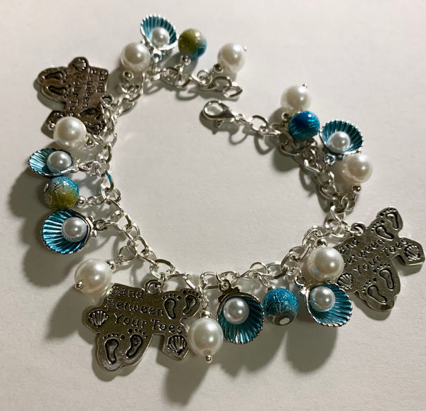 Sand Between Your Toes Charm Bracelet