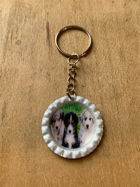 Puppies Keychain