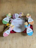 Easter Bunny Magnet Clips