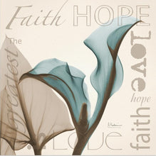 Load image into Gallery viewer, Faith Hope Love - Canvas Wall Art