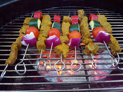 Homemade BBQ Satay Skewers