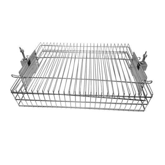 Multi-Use Basket for Large Spit Rotisseries - suits 22mm round or 22mm square skewer