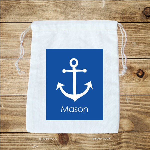 Anchor Favor Bag