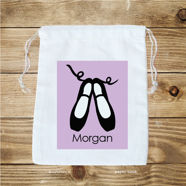 Ballet Shoes Favor Bag