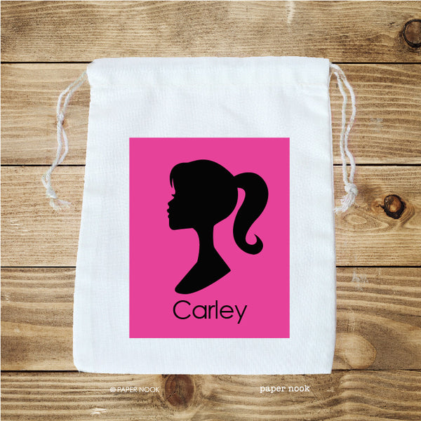 Barbie Silhouette Inspired Favor Bag