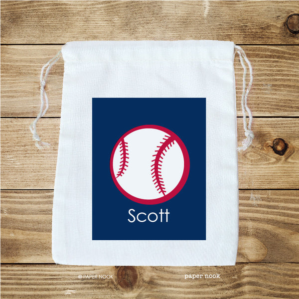 Baseball Favor Bag