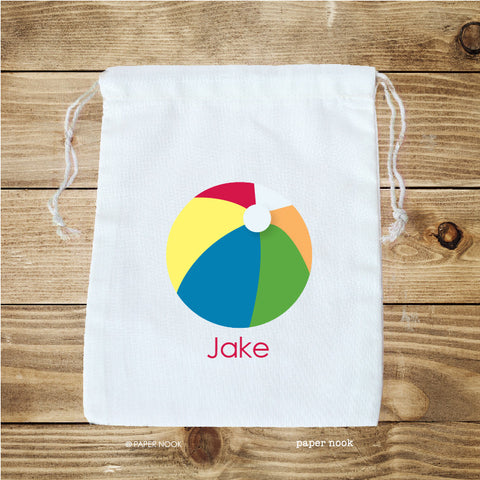 Pool Party Favor Bag