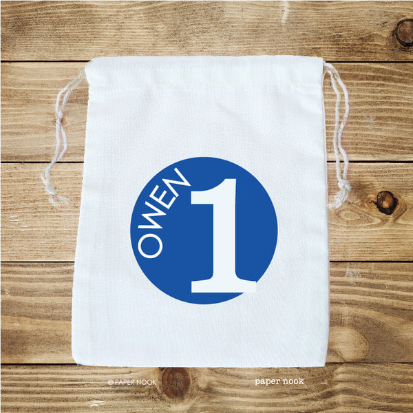 Birthday Age Favor Bag