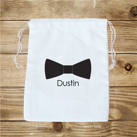 Bow Tie Favor Bag