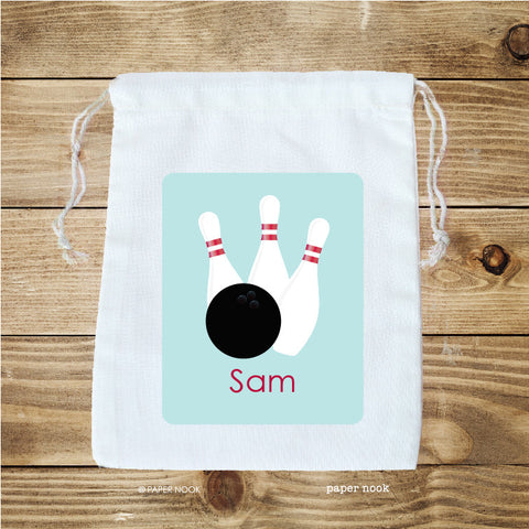 Bowling Favor Bag