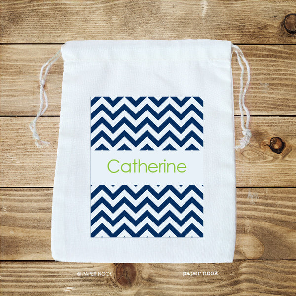 Chevron Favor Bag
