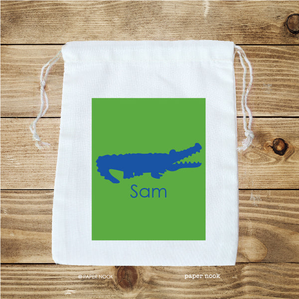 Alligator Favor Bag