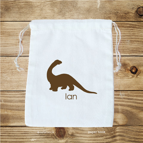 Dinosaur Favor Bag