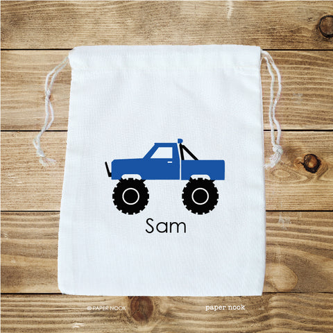 Monster Truck Favor Bag