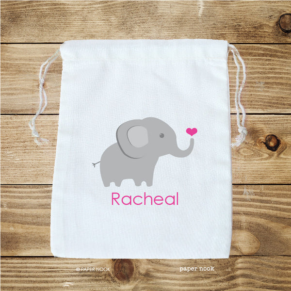 Elephant Favor Bag