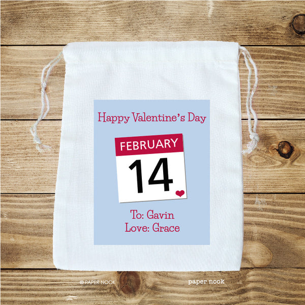 Valentine's Day Favor Bag