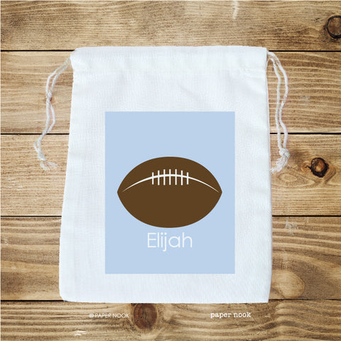 Football Favor Bag