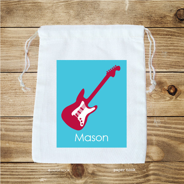 Guitar Favor Bag