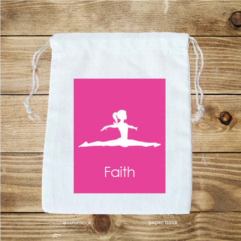 Gymnastics Favor Bag