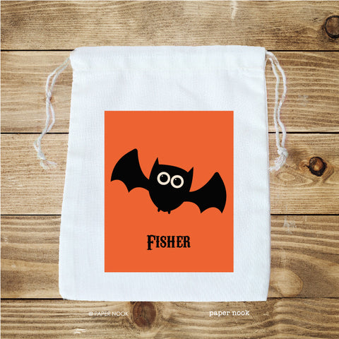 Halloween Bat Favor Bag