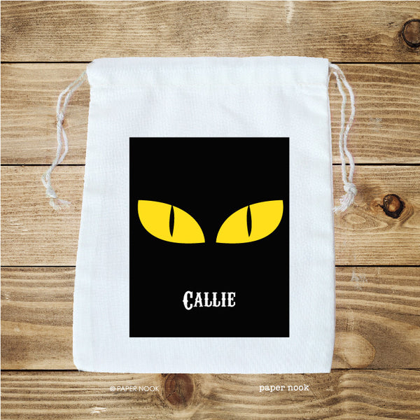 Halloween Scary Eyes Favor Bag