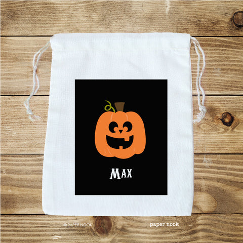 Halloween Jack O' Lantern Favor Bag